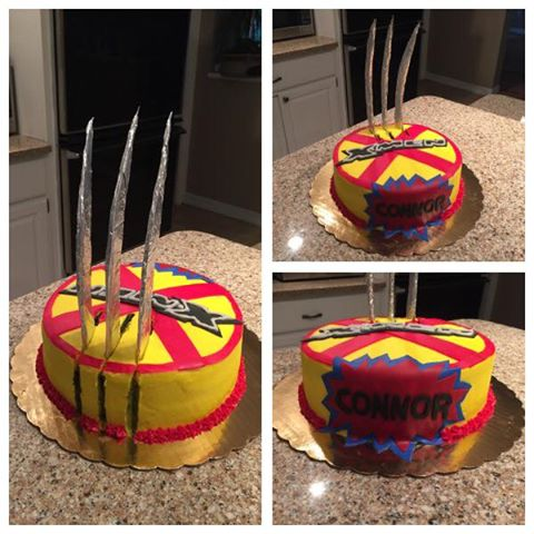 X-Men Birthday Cake | Bonds Big Bites BBQ & Bakery